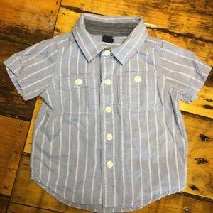 GAP 0-3 month dress shirt